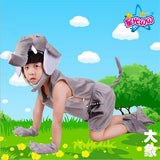 5pcs/set Summer Kids Set Girls Boys Cosplay Costume Kindergarten Performance