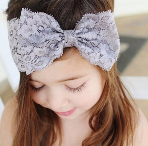 1 Pcs Baby Hair Accessories Toddler Cute Girl Kids Bow Hairband Turban Headband