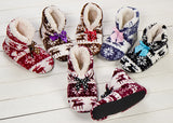 2014 new indoor home slippers cotton slippers plush home slippers couples wooden floor slippers for women and man Plush shoes
