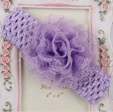 1PCS Newborn Baby Girl Headbands Infant Toddler Flower Cute Elastic Headband Headdress