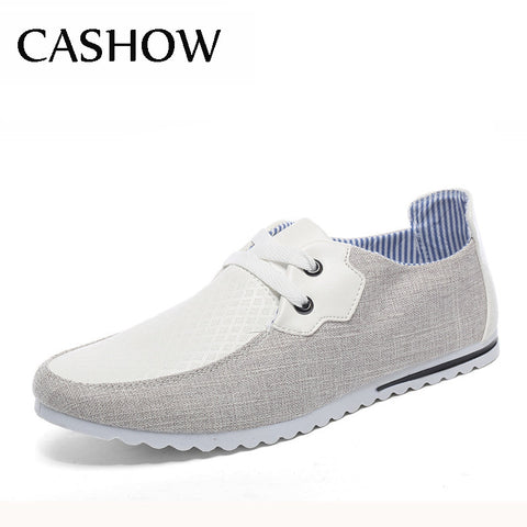New 2015 Breathable Man Hemp Summer Flat Shoes Fashion Outdoor Men Shoes Light Soft Men Casual Sport Boat Sneakers Men's Flats