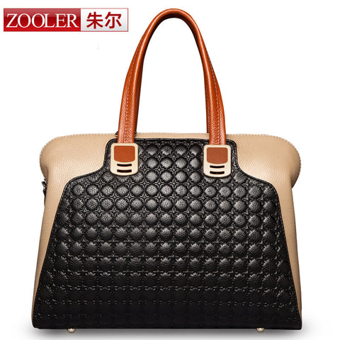(NEWS! All three colors are available.)ZOOLER BRAND Genuine Leather bag bags