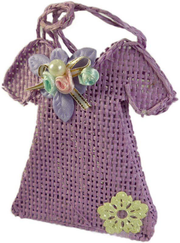 Favours - Dress - Lavender - Per 6 Units