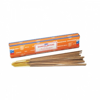 Sandalwood Satya Incense Sticks - Shopy Max
