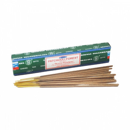 Patchouli Forest Satya Incense Sticks - Shopy Max