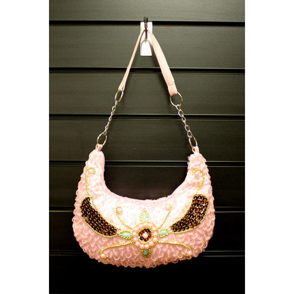 Retro Shimmy Bag - Pink - Shopy Max