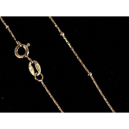 925 Silver Curb Chain - Beaded - Shopy Max