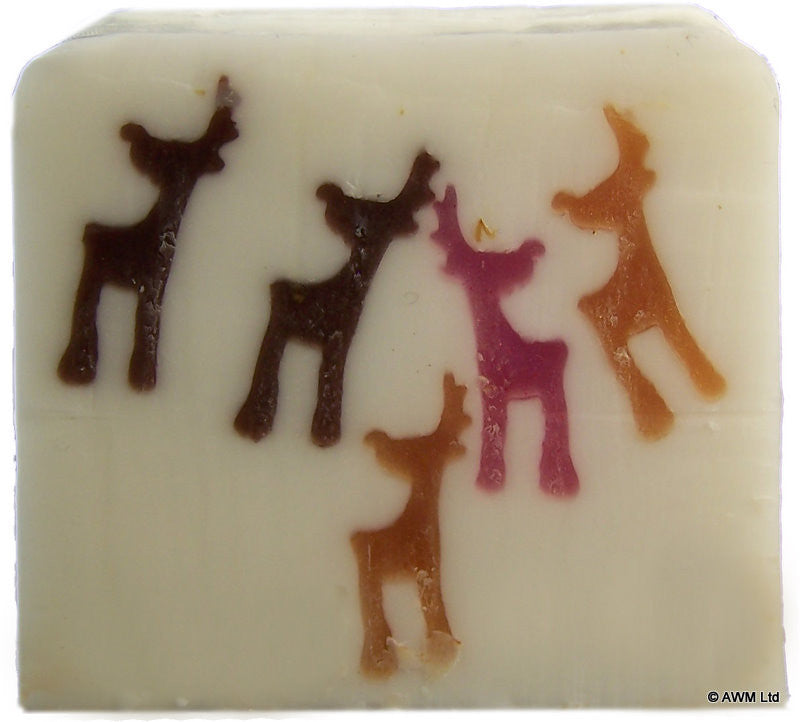 Reindeers Soap - 115g Slice - Shopy Max