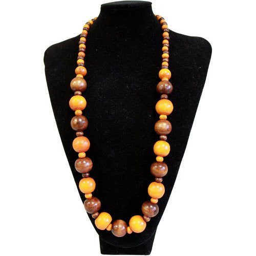 Beach Party Necklace - Orange