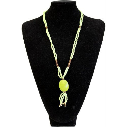 Sundown Chick Necklace - Lime