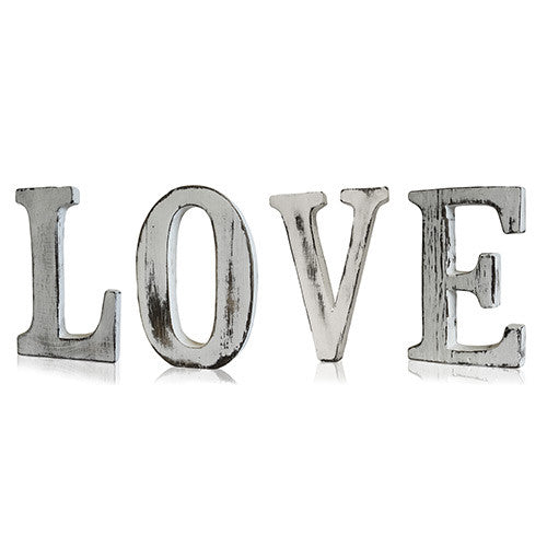 Shabby Chic Letters - LOVE - Shopy Max