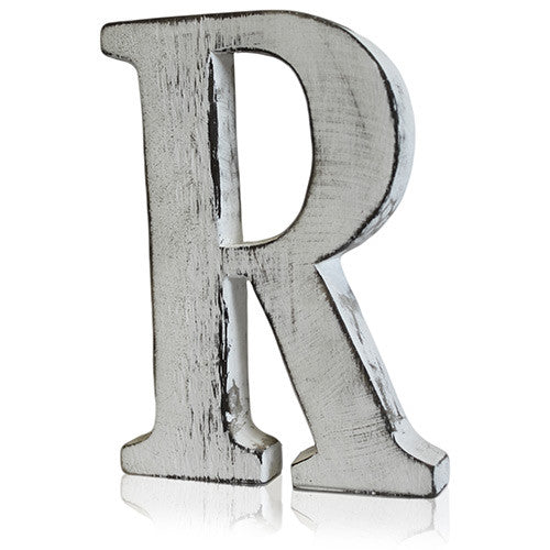Shabby Chic Letter - R - Shopy Max