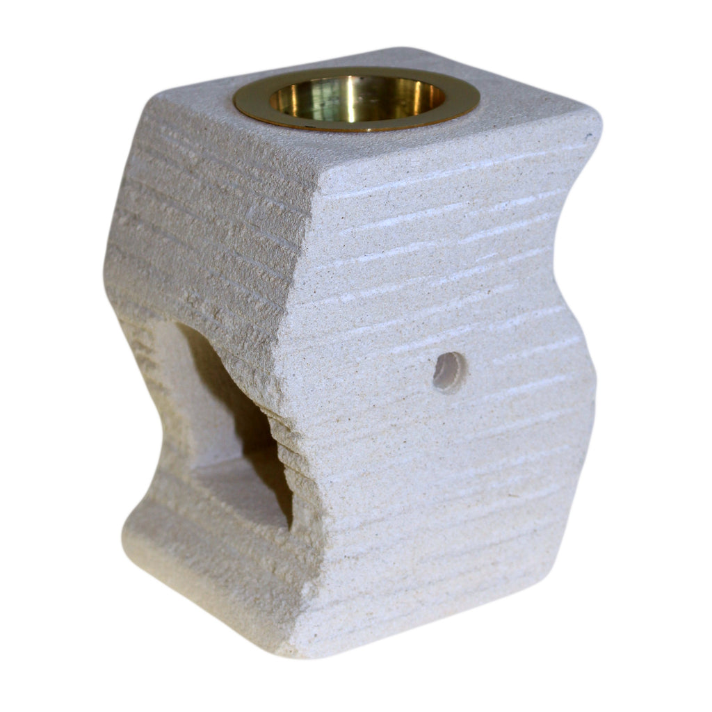 Stone Oil Burner - Stepped Wave - Shopy Max