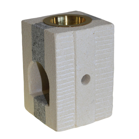 Stone Oil Burner - Combo Square