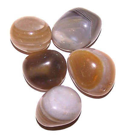 Banded Agate Large Tumble Stones