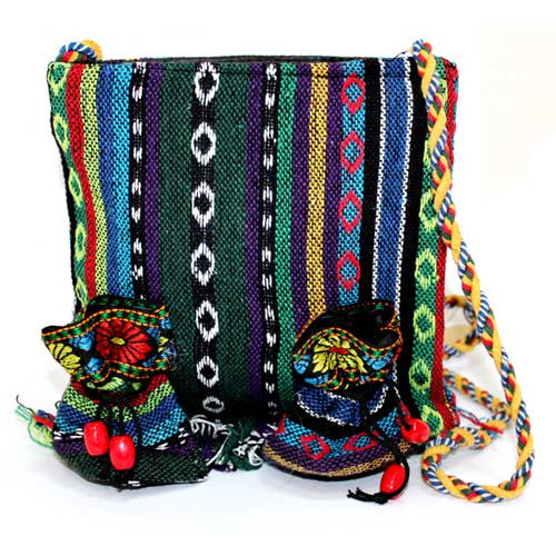 Tibetan Fringe Bag - Medium & 2 Pouch - Shopy Max