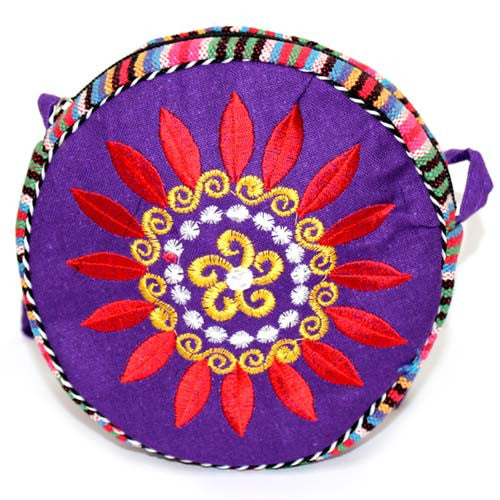 Tibetan Wheel of Life Bag - Indigo - Shopy Max