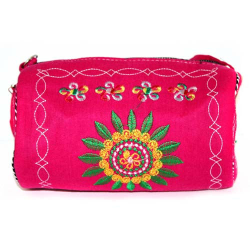 Log Bag Wheel of Life Bag - Violet