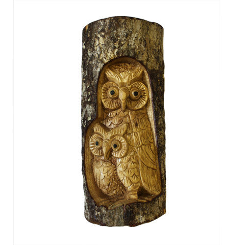 Owl Family Carving - Shopy Max