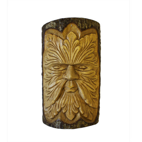 Lrg Green Man Carving