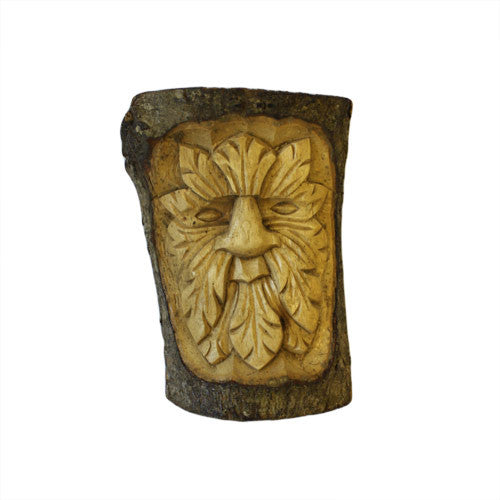 Small Green Man Carving