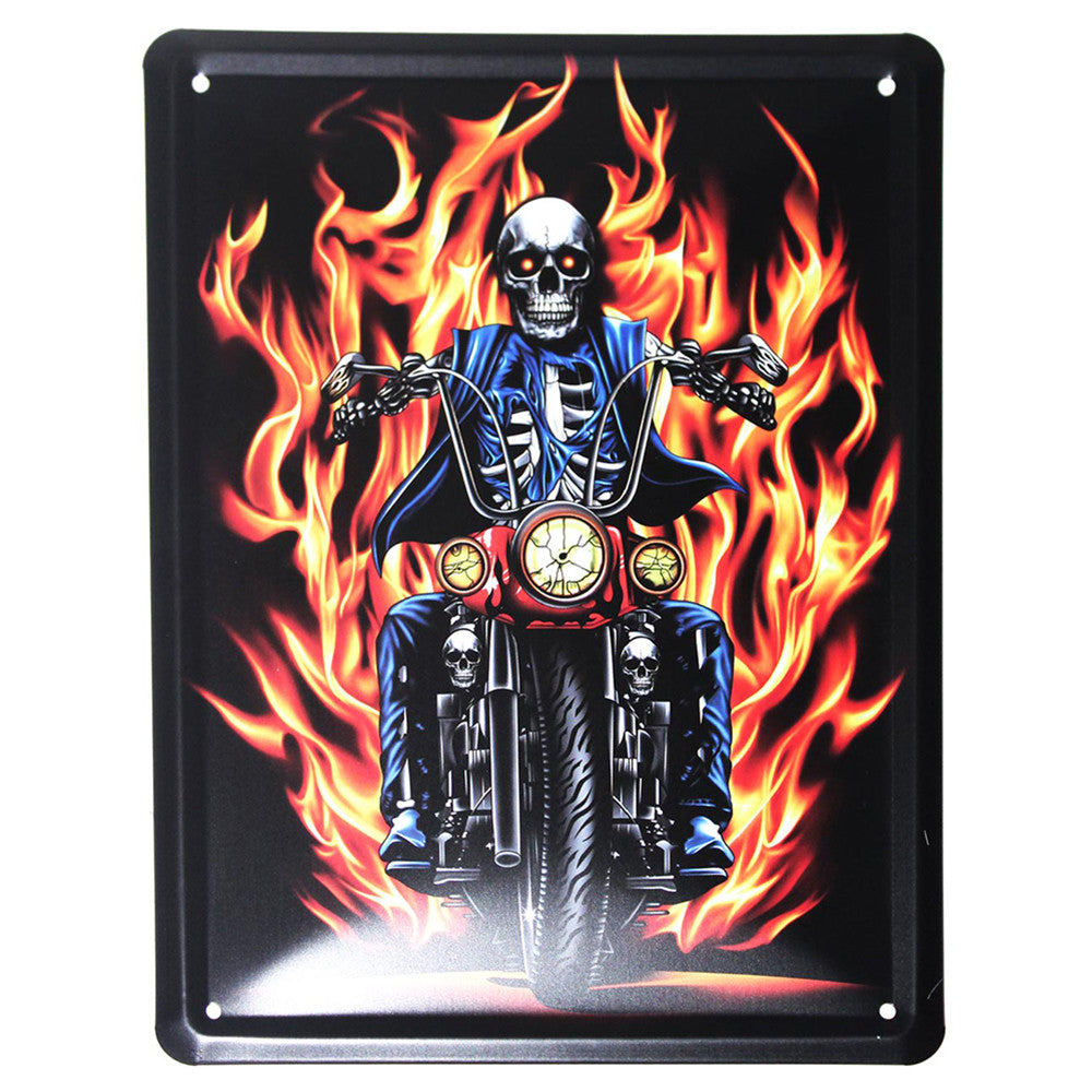 Metal Plaque - Hells Angels