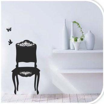 Wall Decor - Black Chair
