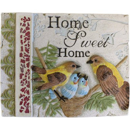 Wise Word Plaque Lrg - Home Sweet Home