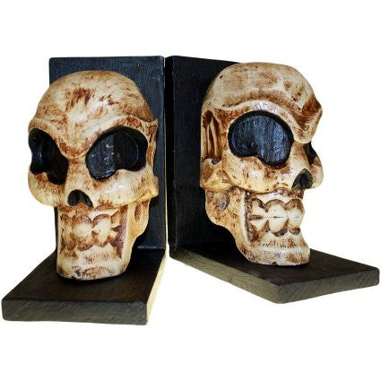 Skull Book Ends (pair) - Shopy Max