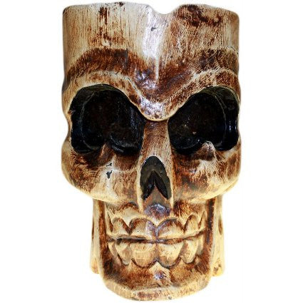 Ashtray Single Skull