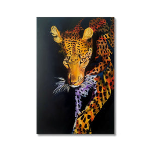 Leopard in Shadows Fine Art Print