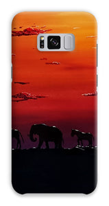 African Sunset Phone Case