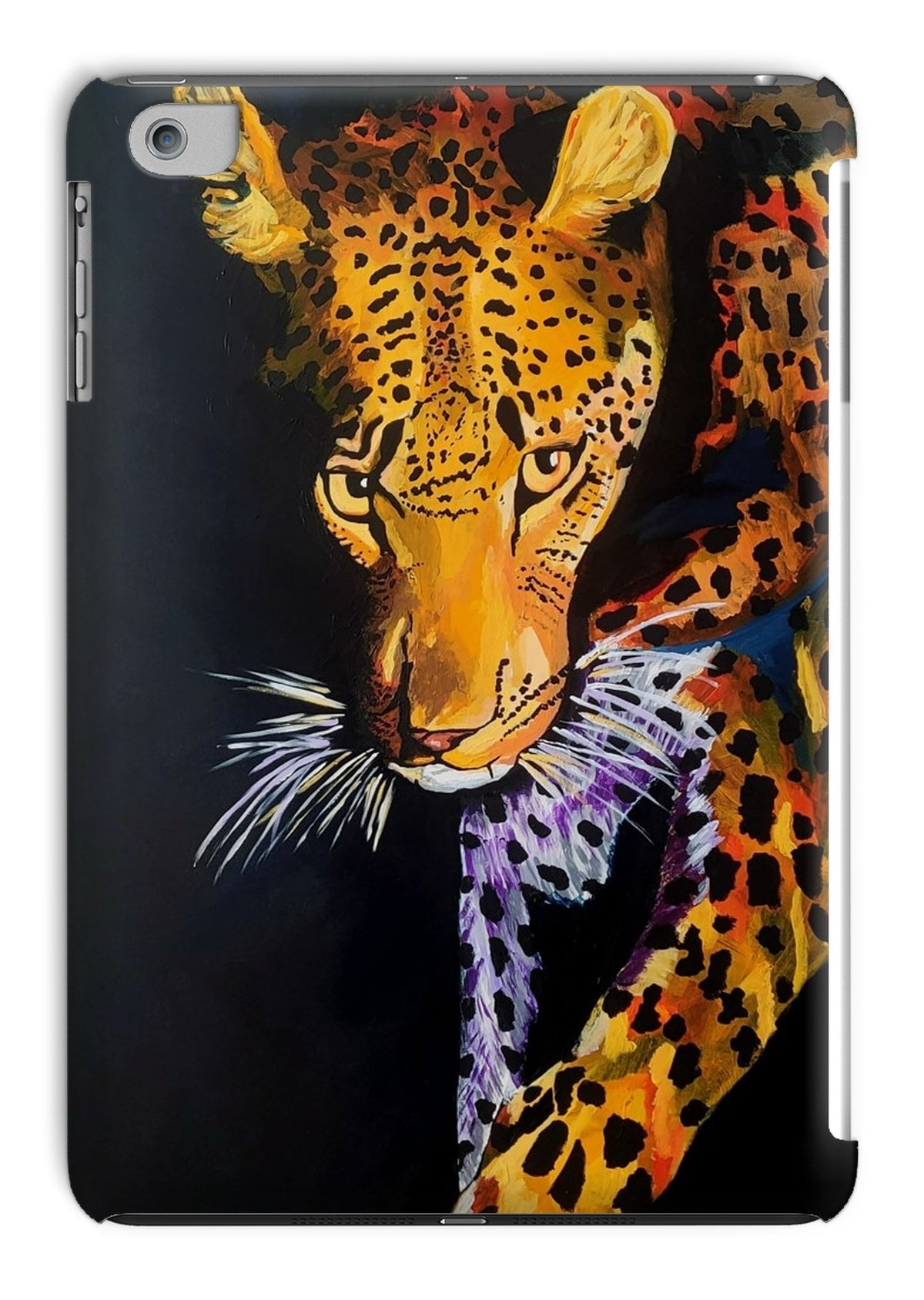 Leopard in Shadows Tablet Cases