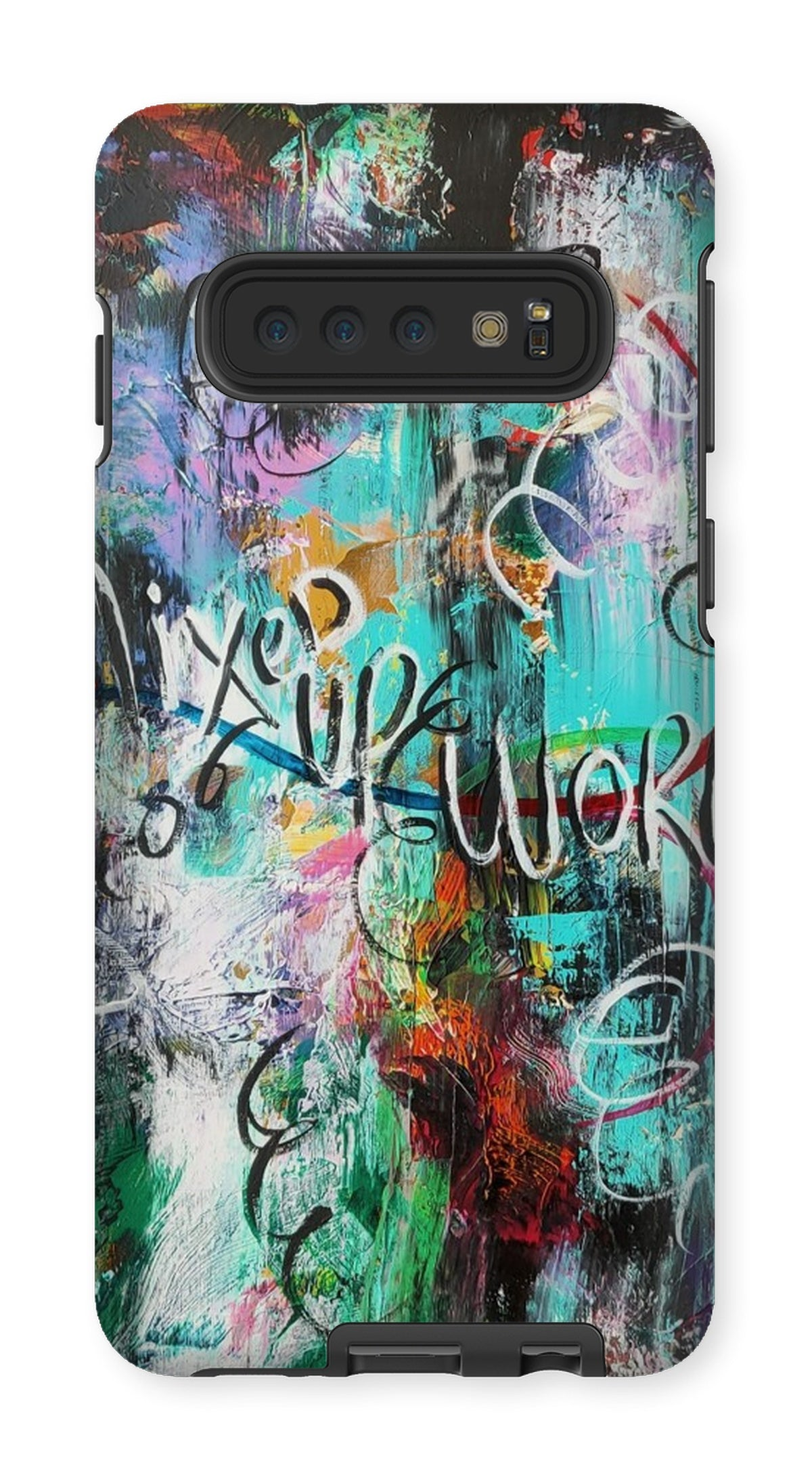 Mixed Up World Phone Case