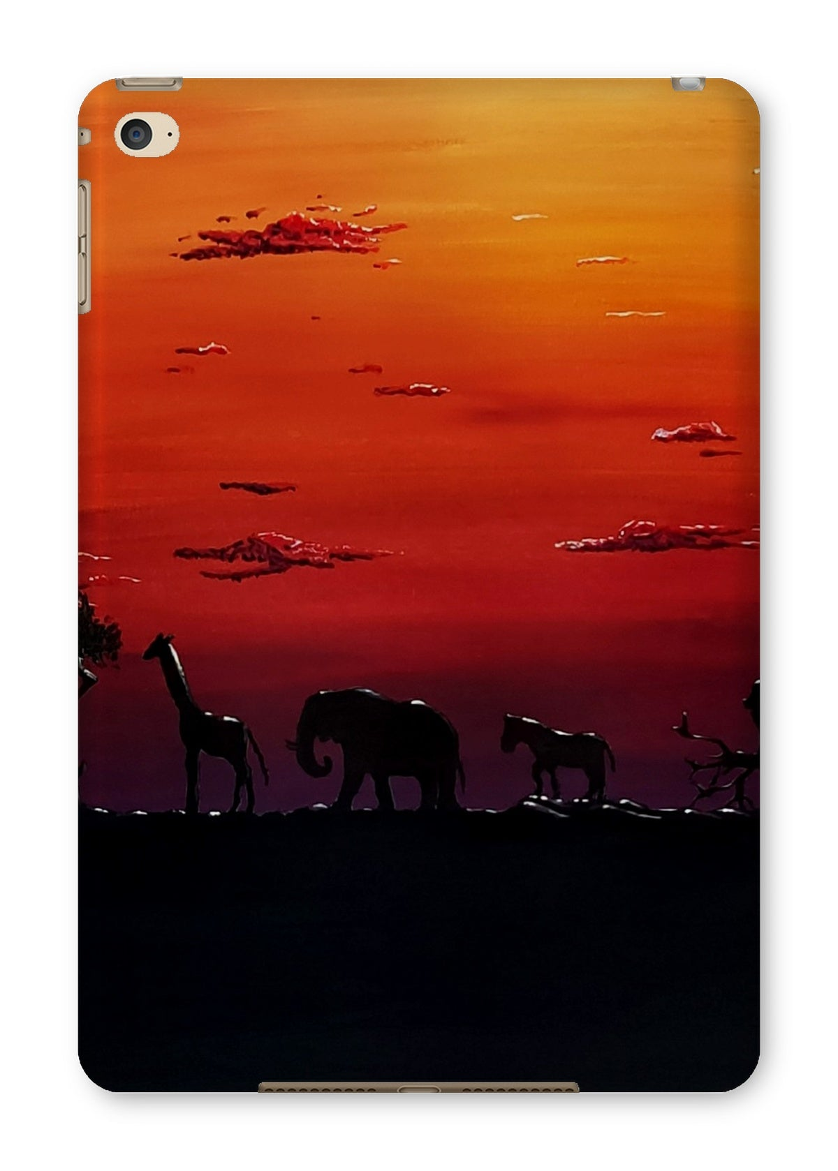 African Sunset Tablet Cases