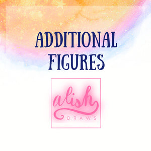 Additional Figures - Additional Subject, Person Addition, Pet Addition - AlishDraws