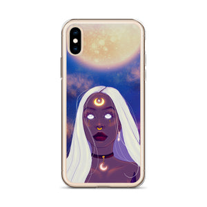 Lunita iPhone Case - AlishDraws