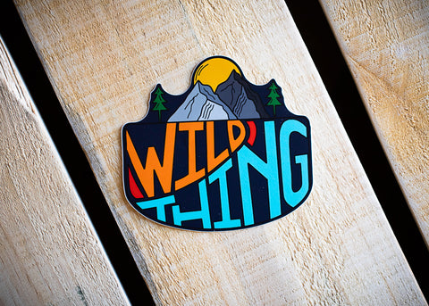 Wild Thing Vinyl Sticker