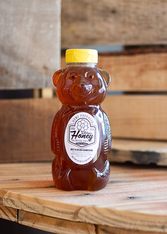 24 oz Local Honey Cylinder
