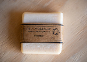 Unscented Beer and Goat Milk Soap