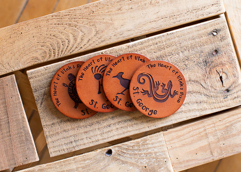 Coasters set of 4
