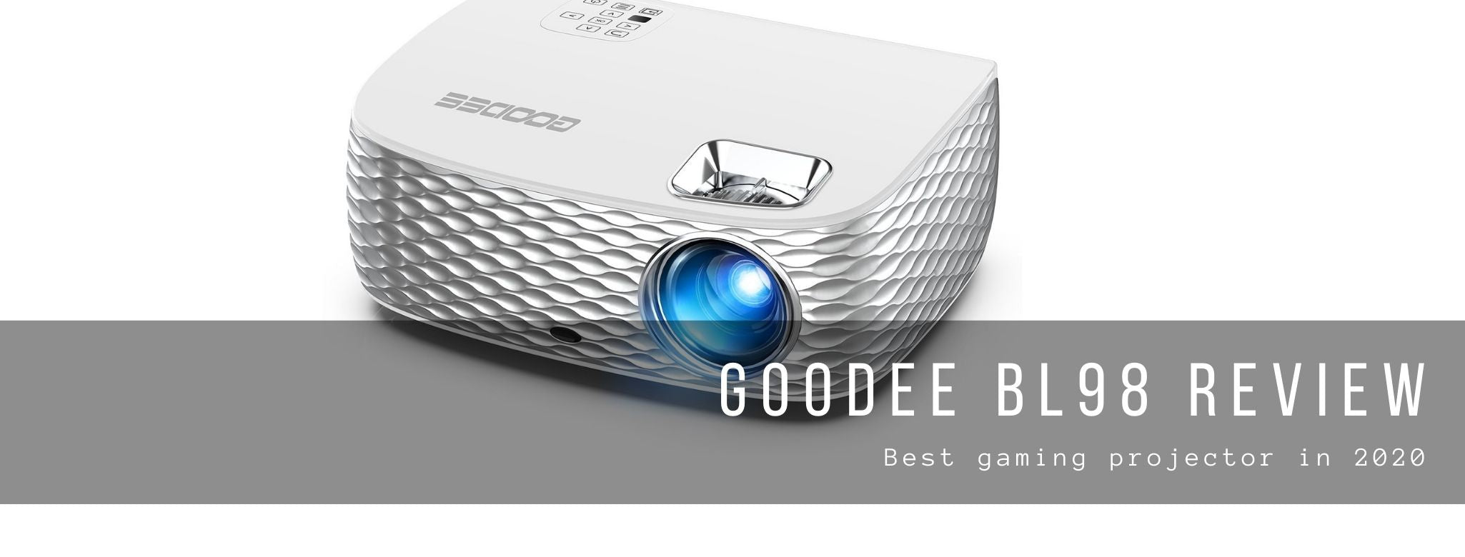Goodee BL98 Review – Best gaming projector in 2020