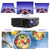 GooDee F20 Native Full HD 1080P LED Video Projector, Home Theater Projector