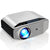 GooDee Outdoor Movie Projector YG620 | Native 1080P  | Full HD LCD 300 Inch | Contrast 7000:1 with 6800 Lux