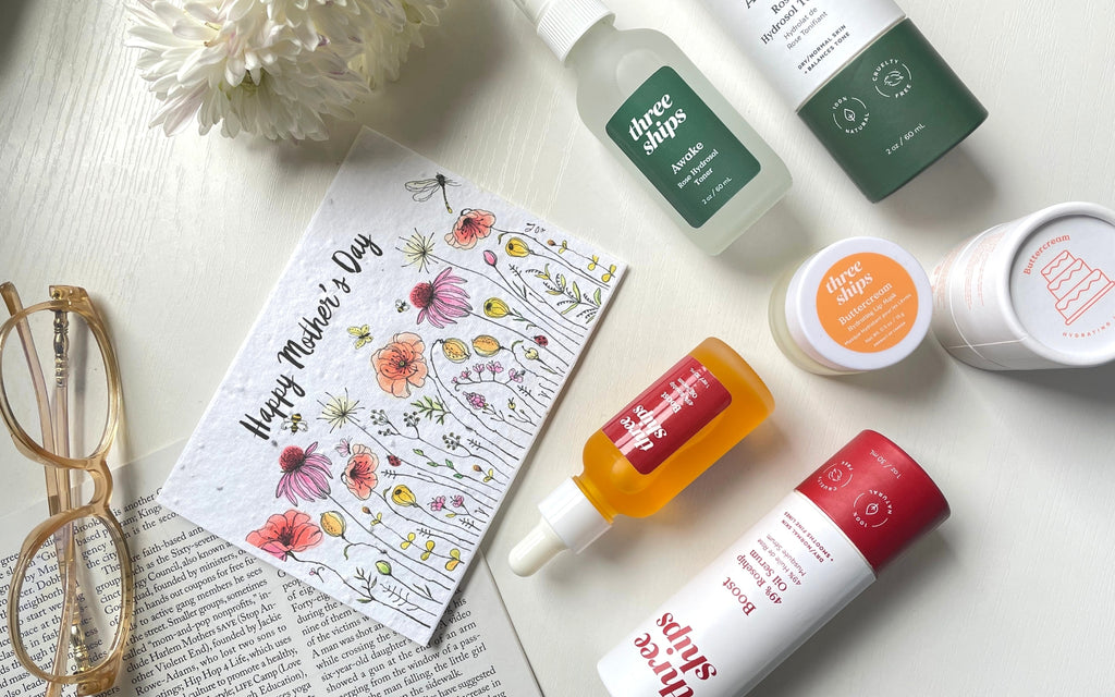 Mother's Day Plantable Card with Skincare Bundle