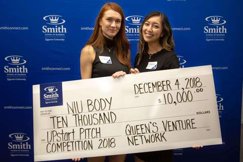 Queen's Venture Network UPstart Pitch Competition NIU BODY Winners