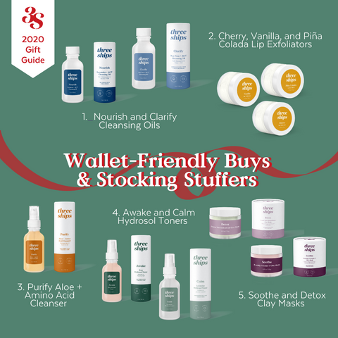 Wallet Friendly Buys and Stocking Stuffers Three Ships Gift Guide