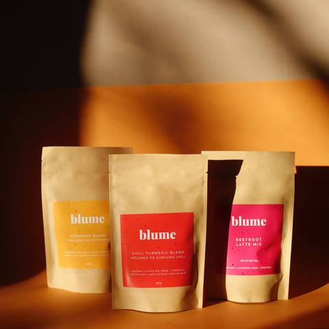 blume assorted products packets lifestyle