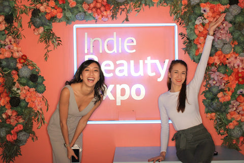 indie beauty expo three ships beauty co-founders connie lo laura burget