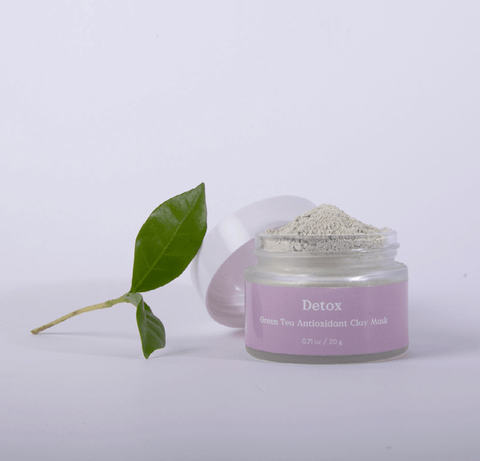 three ships detox green tea clay mask